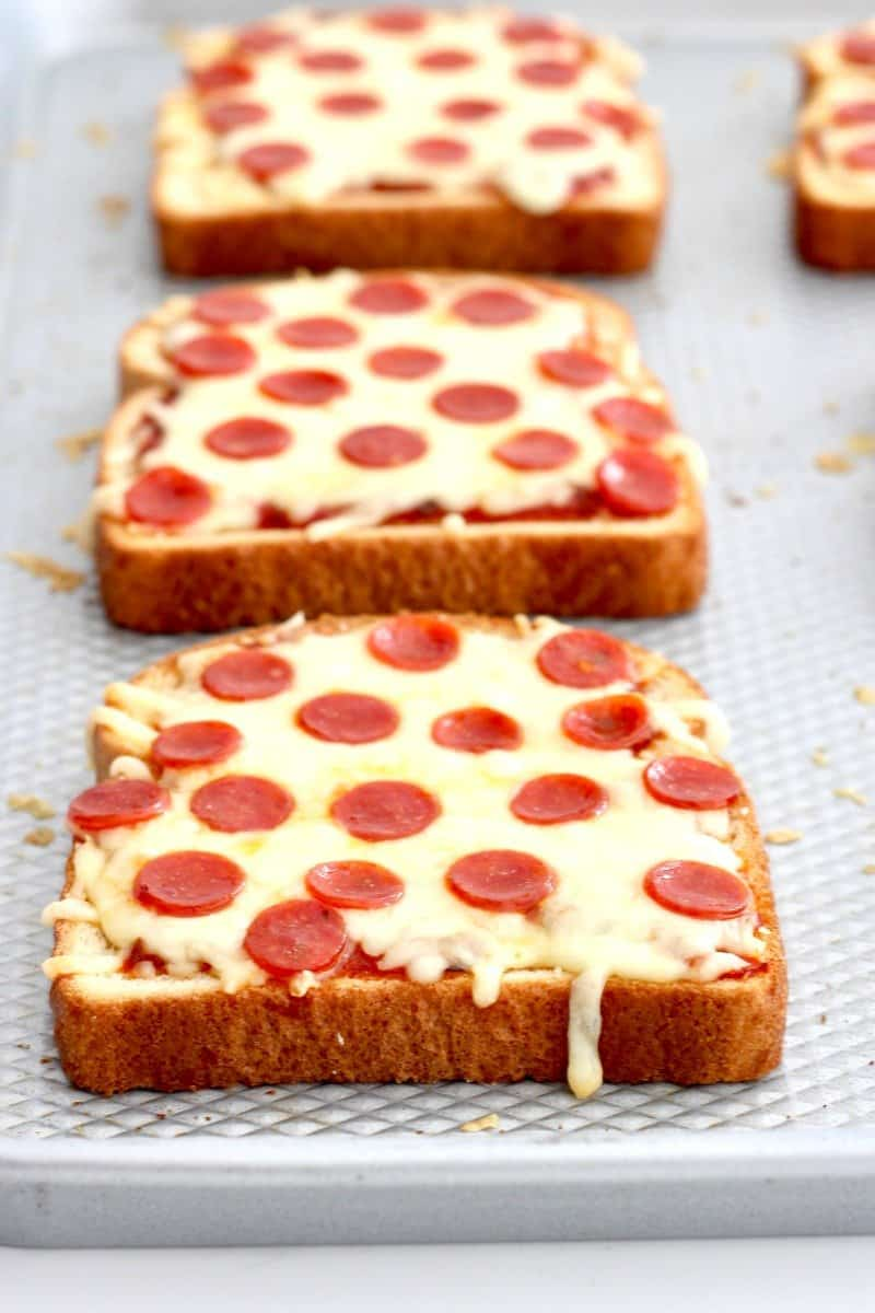 Pizza Toast The Bakermama