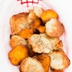 Baked Sweet and Salty Potato Chips