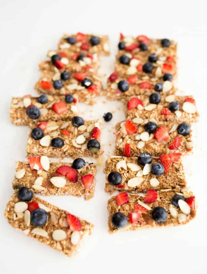 Overnight Oats Bars