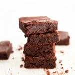 5-Ingredient Flourless Brownies