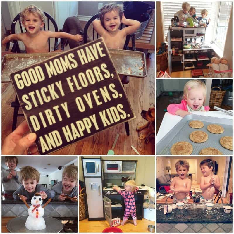 Kids In The Kitchen Great Ideas For Distracting Or Involving Your Kids While You Cook The Bakermama