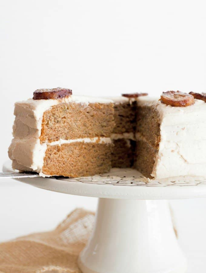 Best of the Best Banana Cake with Brown Butter Frosting
