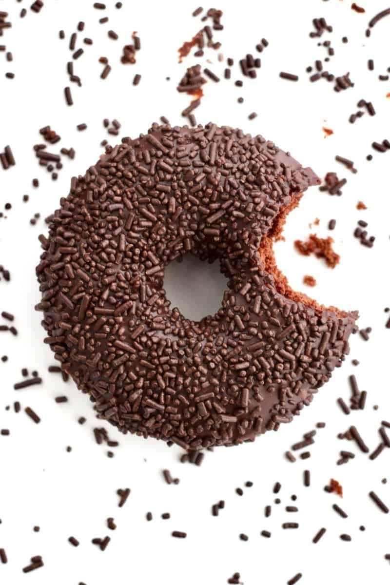 Chocolate Cake With Sprinkle