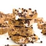 Peanut Butter Chocolate Chip Rice Krispie Treats