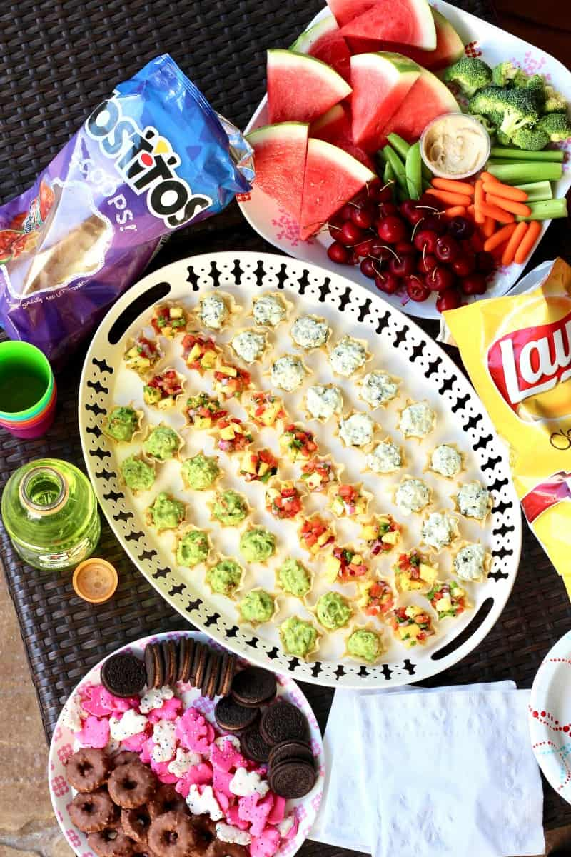Summer Snack Trays