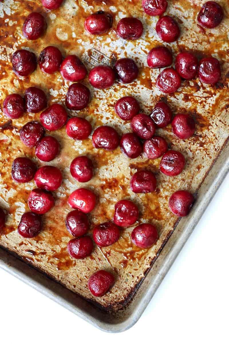 Honey Roasted Cherries