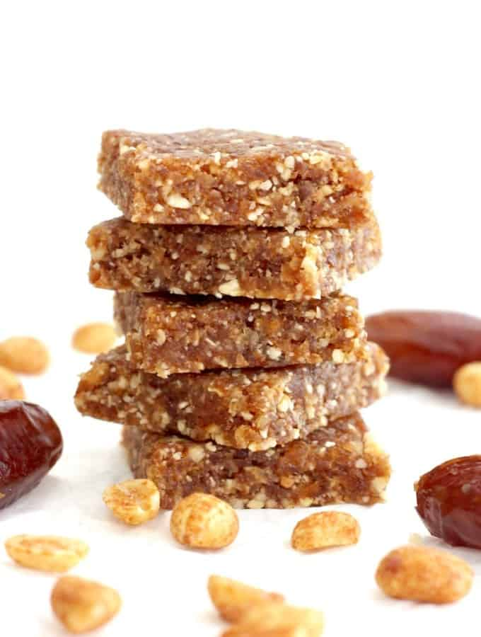 2-Ingredient Homemade Honey Nut Larabars