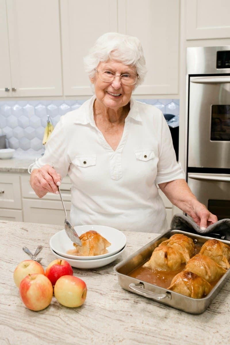 Great Aunt Ina's Apple Dumplings