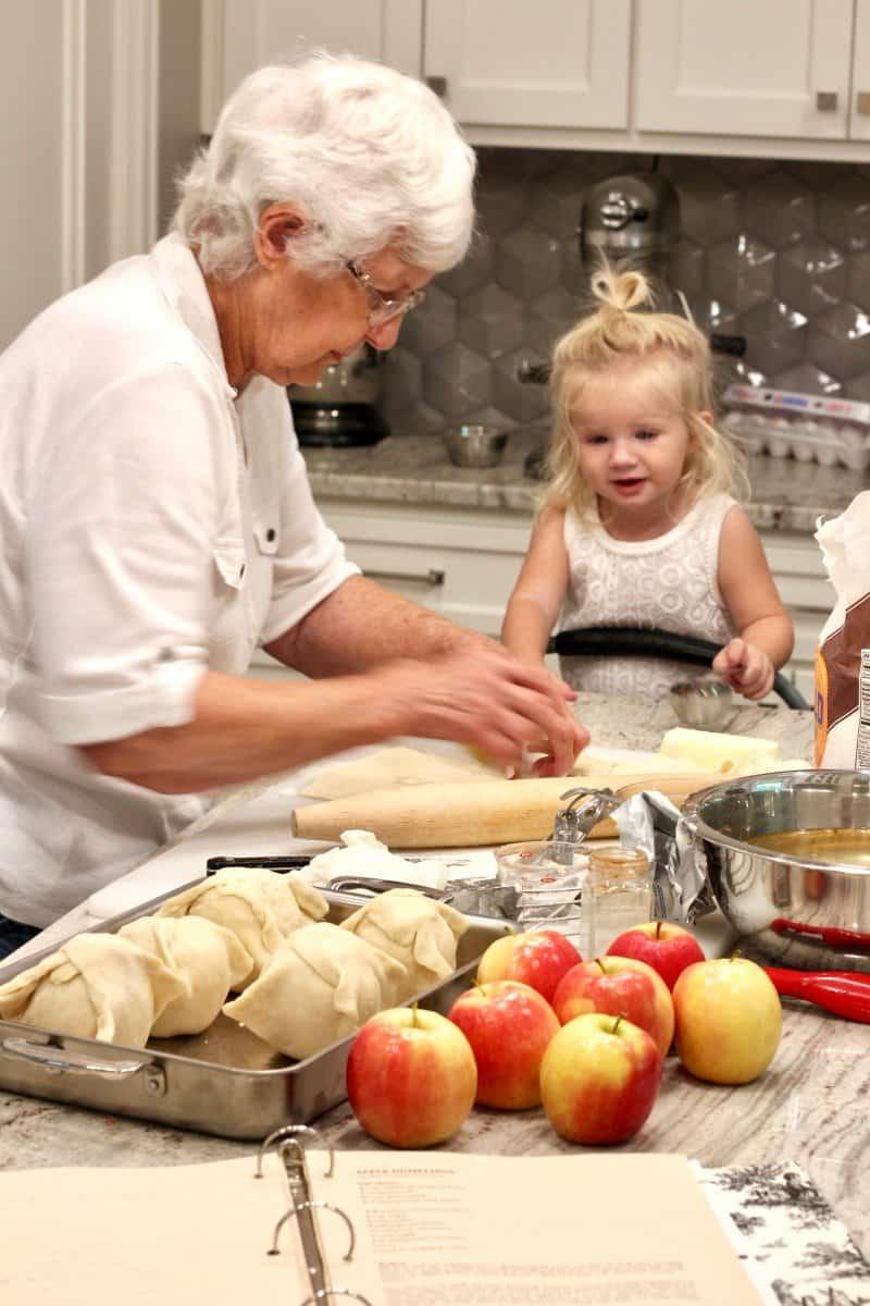Great Aunt Ina's Apple Dumplings