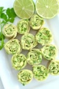 5 Ingredient 5 Minute Avocado Roll Ups