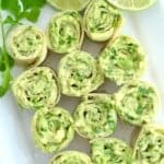 5-Ingredient 5-Minute Avocado Roll Ups
