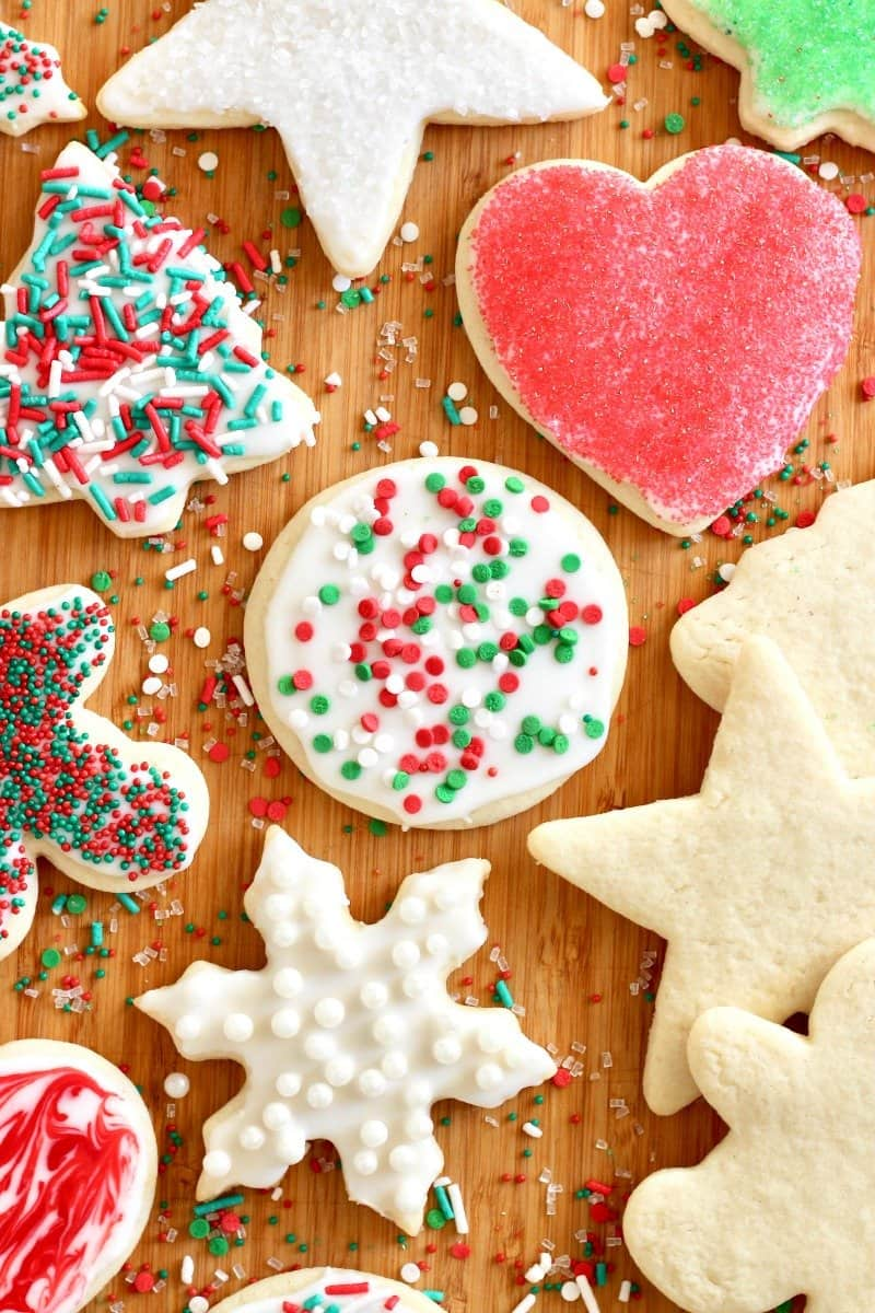 Easy No-Chill Cut-Out Sugar Cookies