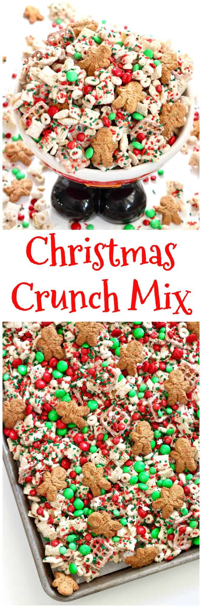 Christmas Crunch Mix