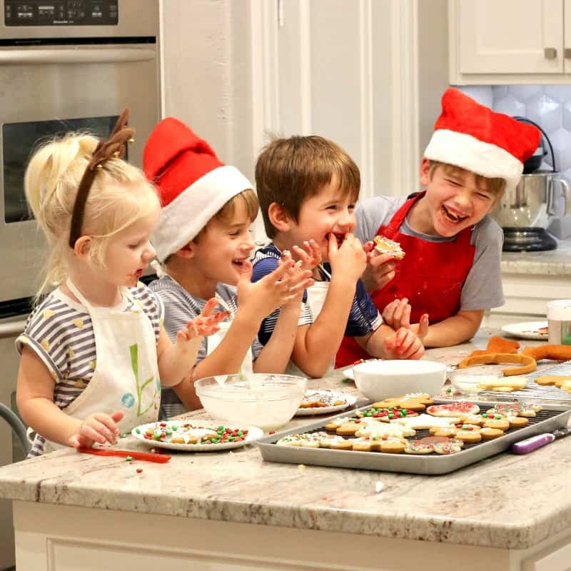 The BakerMama's Kids in the Kitchen: Holiday Edition