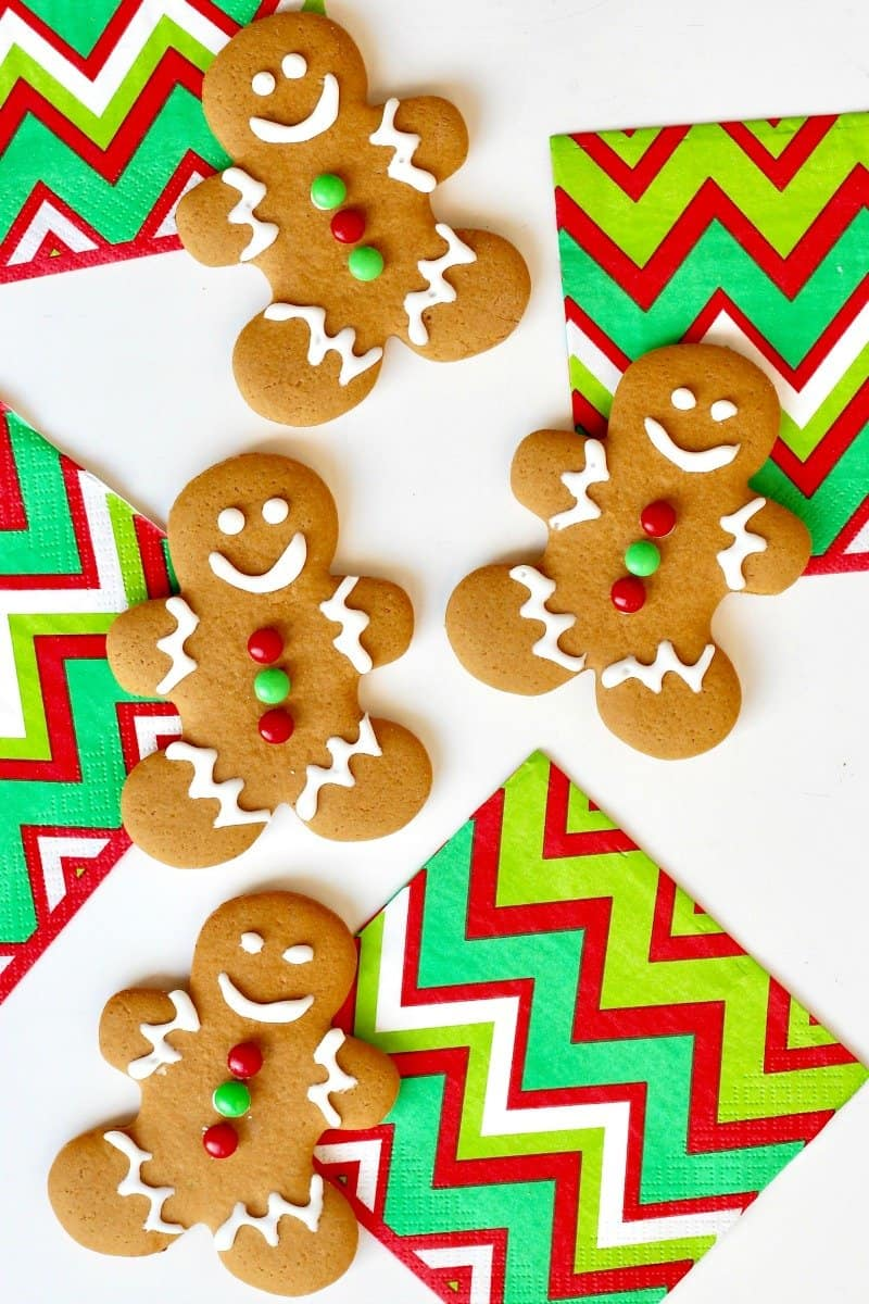 This is an image of Shocking Gingerbread Men Image
