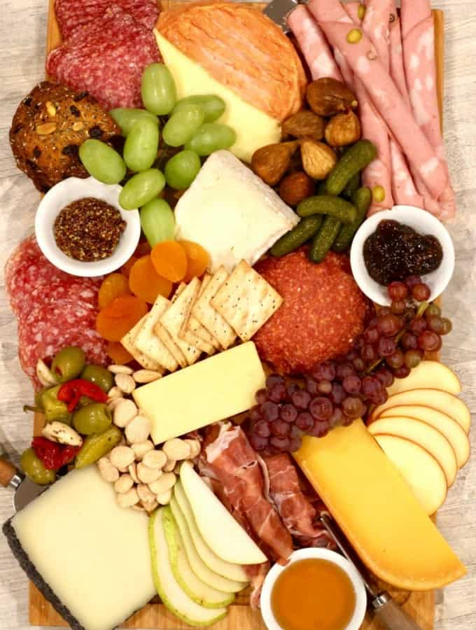 How We Charcuterie and Cheese Board