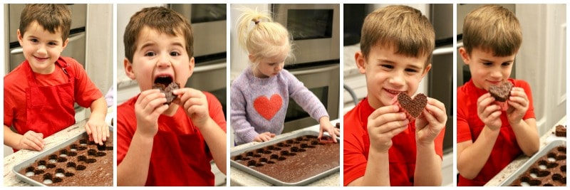 Mini Heart-Shaped Cakes