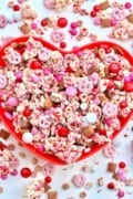 Valentine Sweetheart Snack Mix