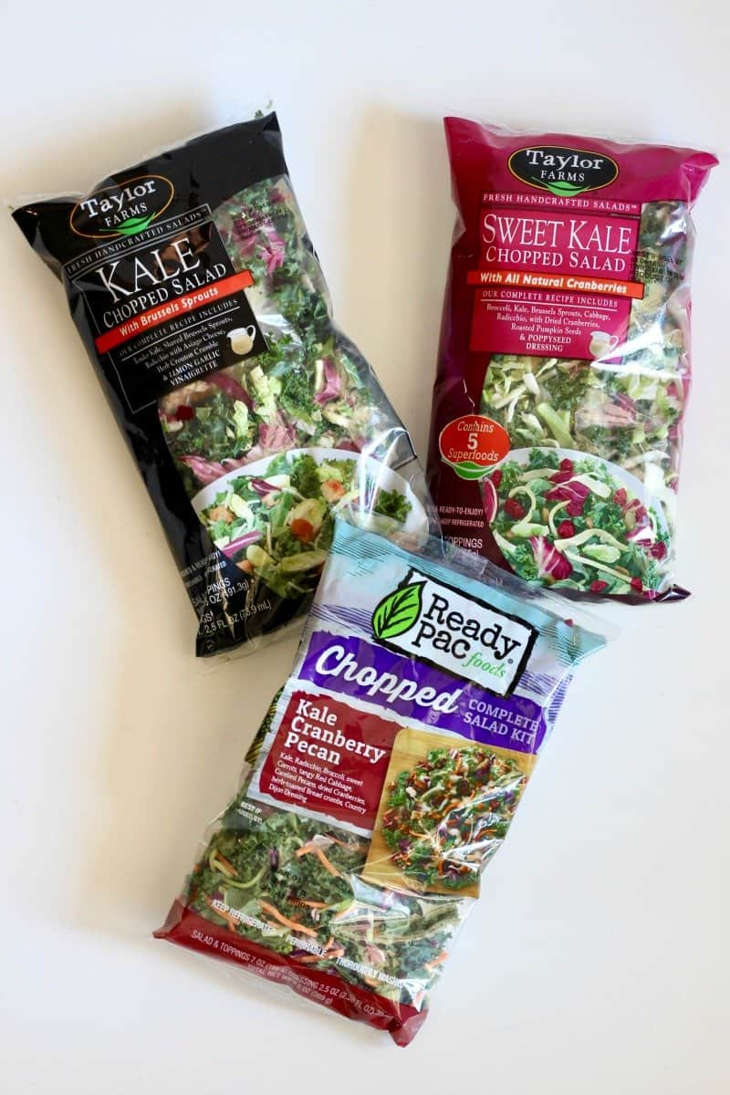 Favorite Salad Mixes for 5-Minute Lunch Salad