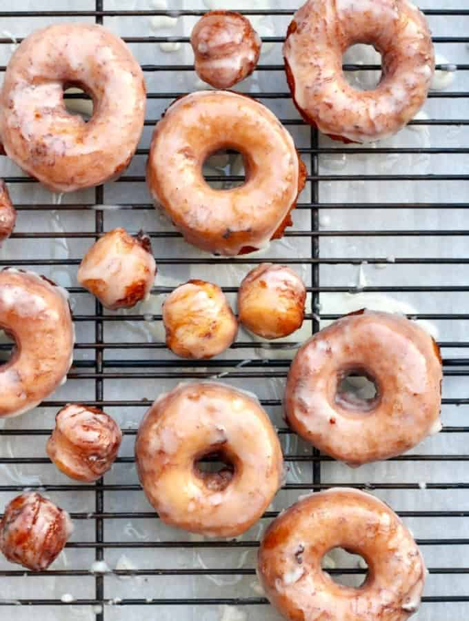 Canned Cinnamon Roll Donuts