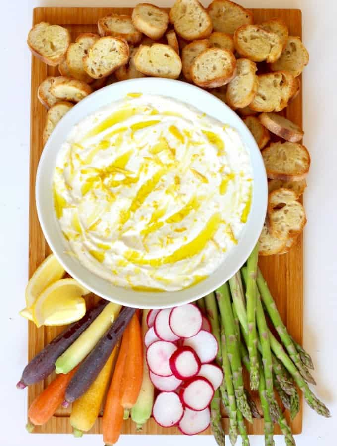 Whipped Ricotta Board