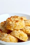 5-Ingredient Flaky Cheddar Biscuits