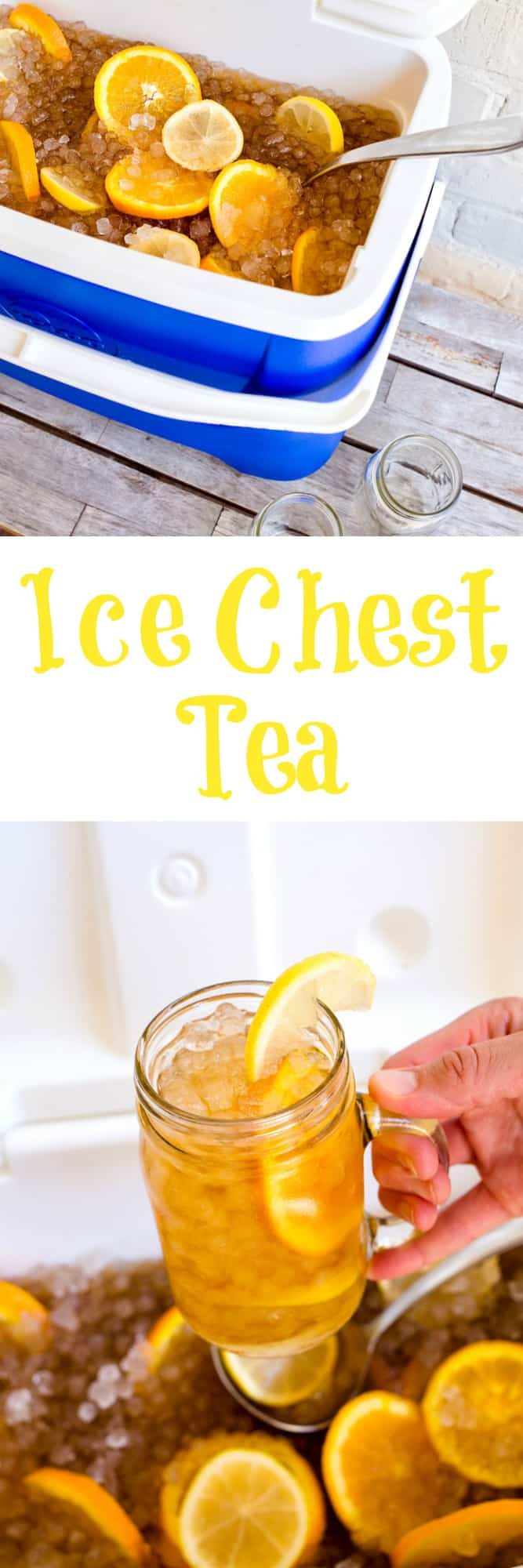 Ice Chest Tea