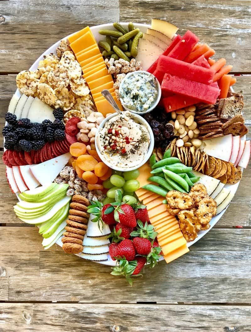 Trader Joe's Snack Tray by The BakerMama