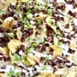 Black & Blue Steak Nachos
