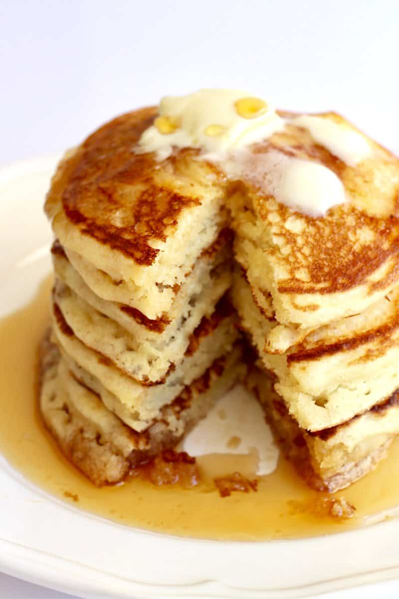 Classic Buttermilk Pancakes The Bakermama