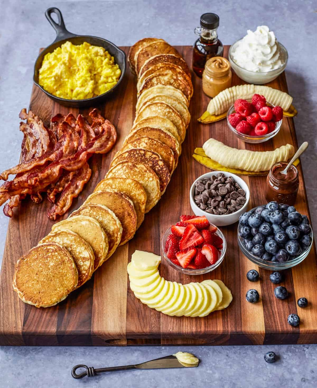 Pancake Board by The BakerMama