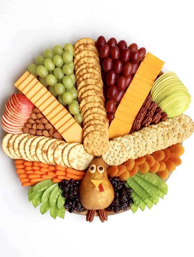 Turkey Snack Board by The BakerMama