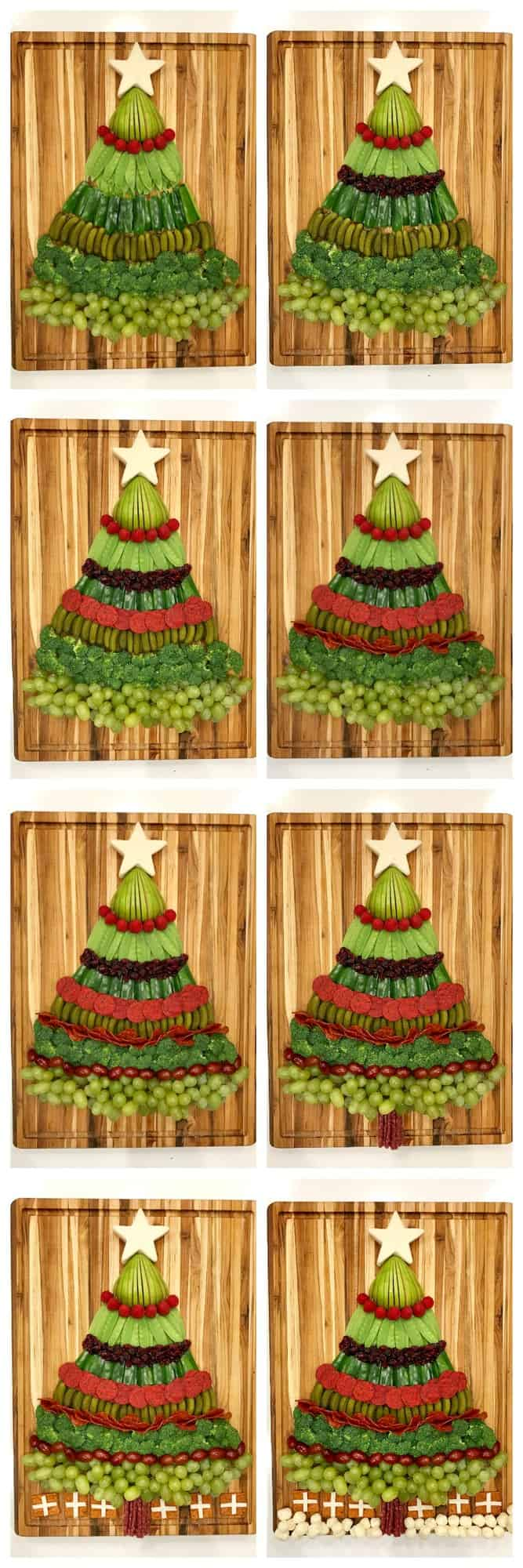 Christmas Tree Snack Board by The BakerMama
