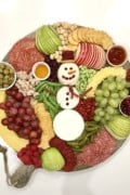 Snowman Snack Board by The BakerMama