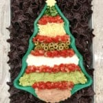Christmas Tree 7 Layer Dip