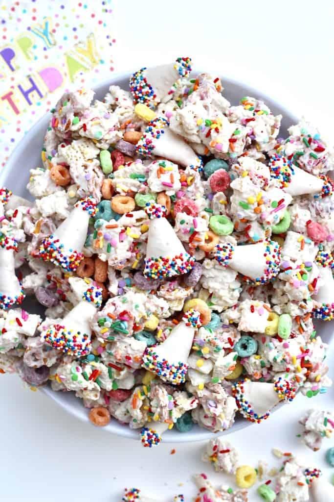 Birthday Snack Mix