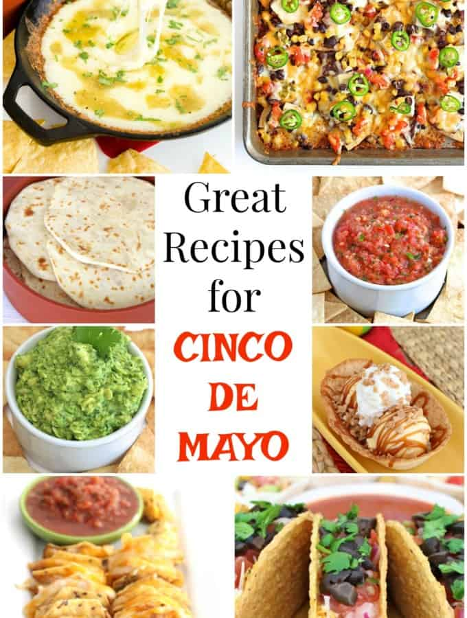 Great Recipes for Cinco de Mayo