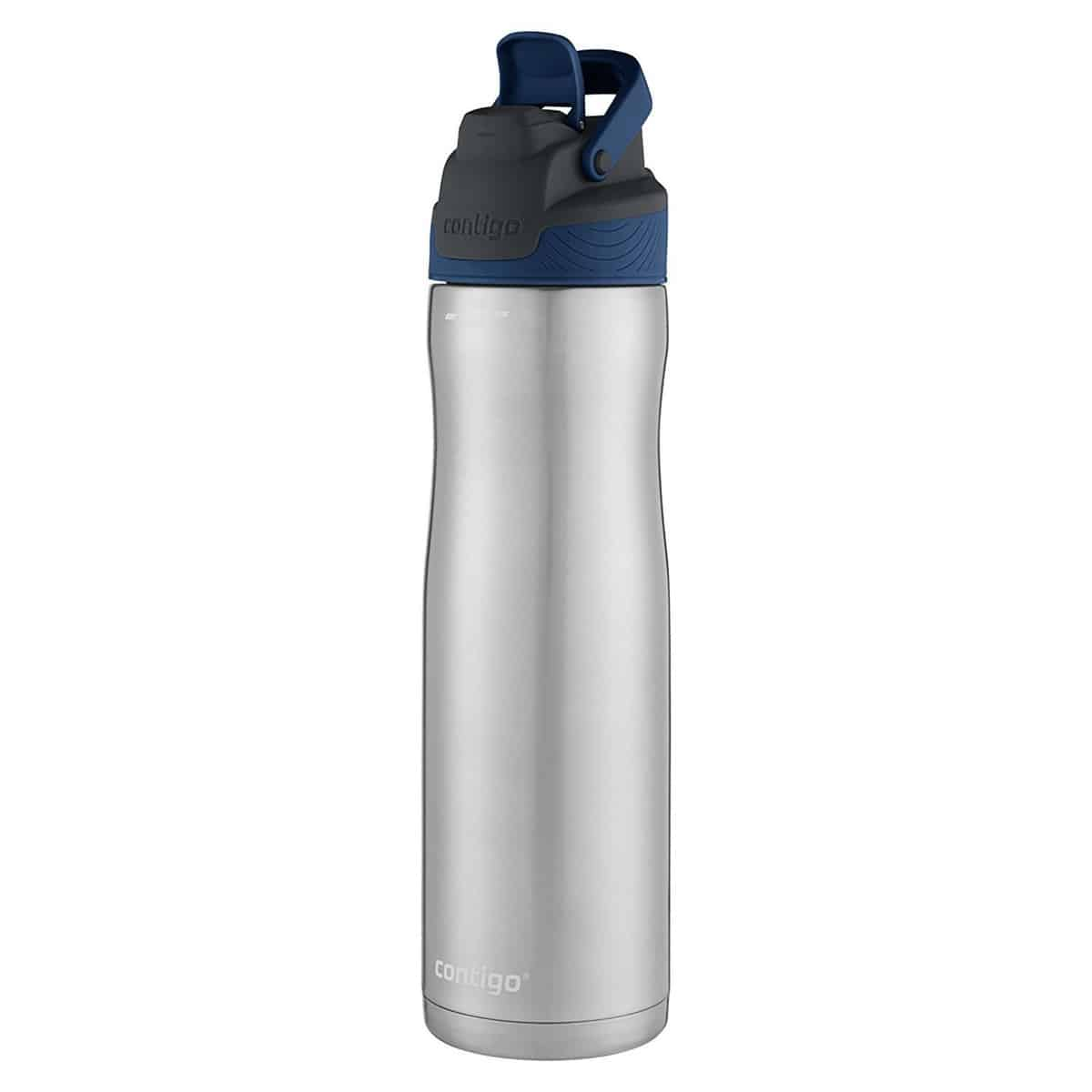 Contigo AUTOSEAL Chill Stainless Steel Water Bottle, 24 oz, SS Monaco
