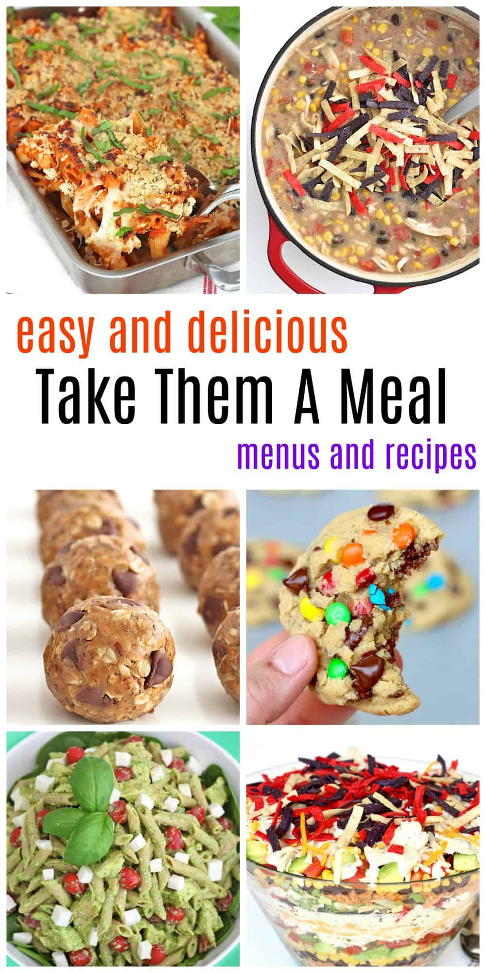 Take Them A Meal Collage