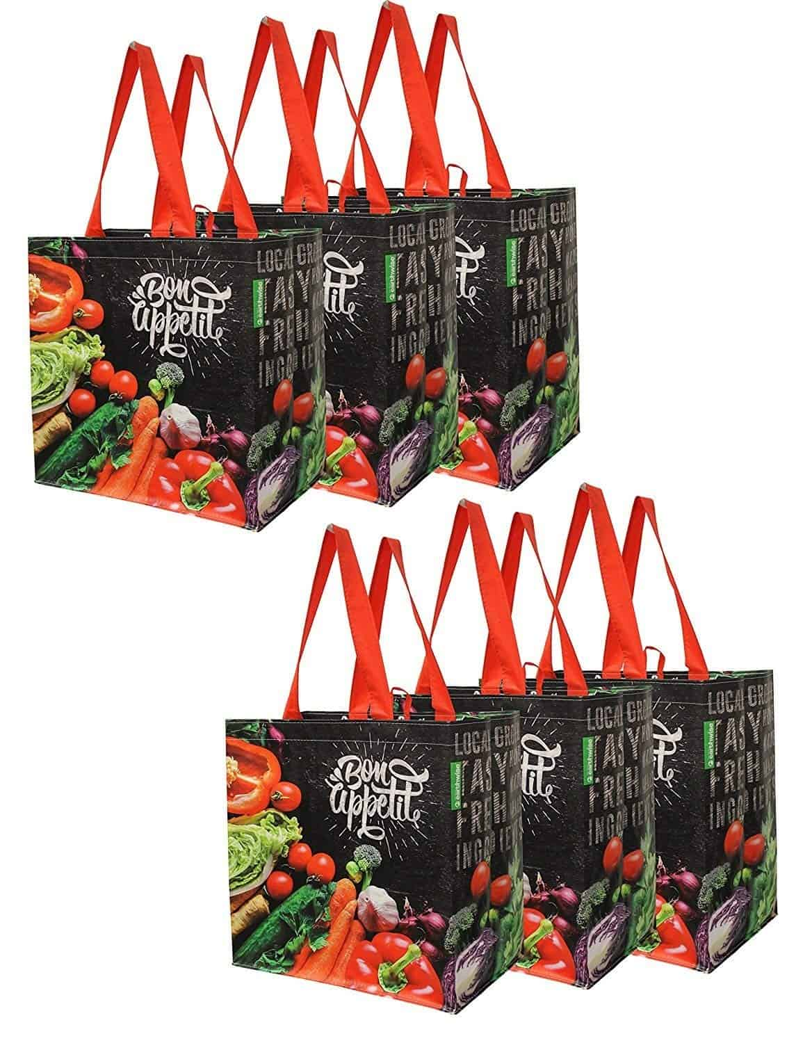 Earthwise Reusable Grocery Bags