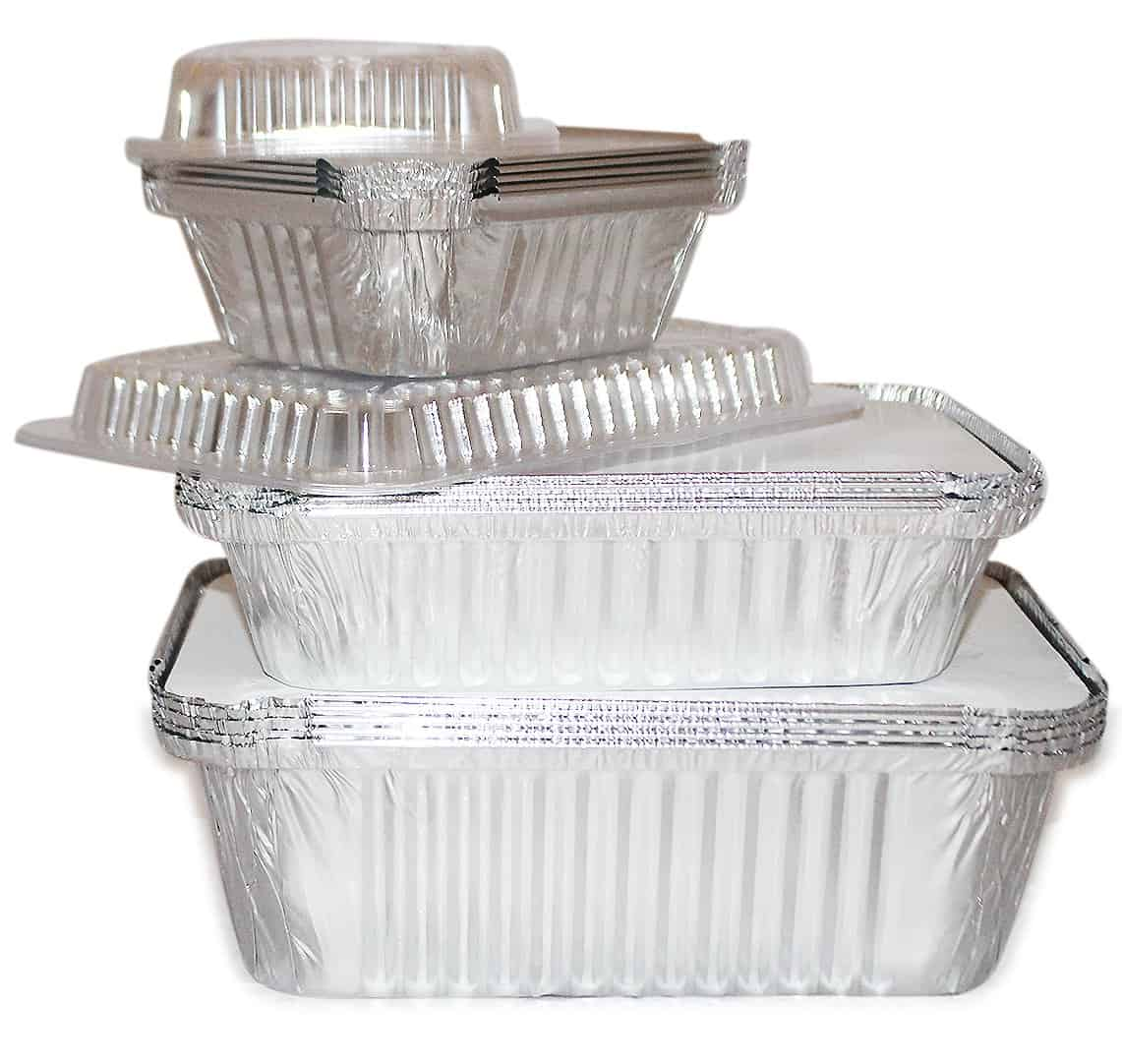Aluminum Foil Pan Containers Variety Pack