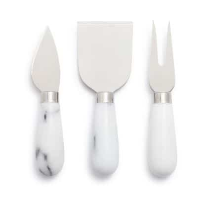 Marble Cheese Knife Set