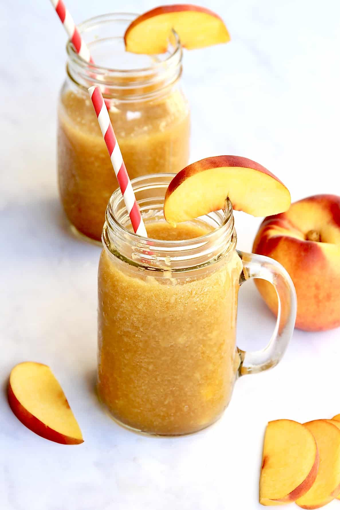 Peach Tea Slushies