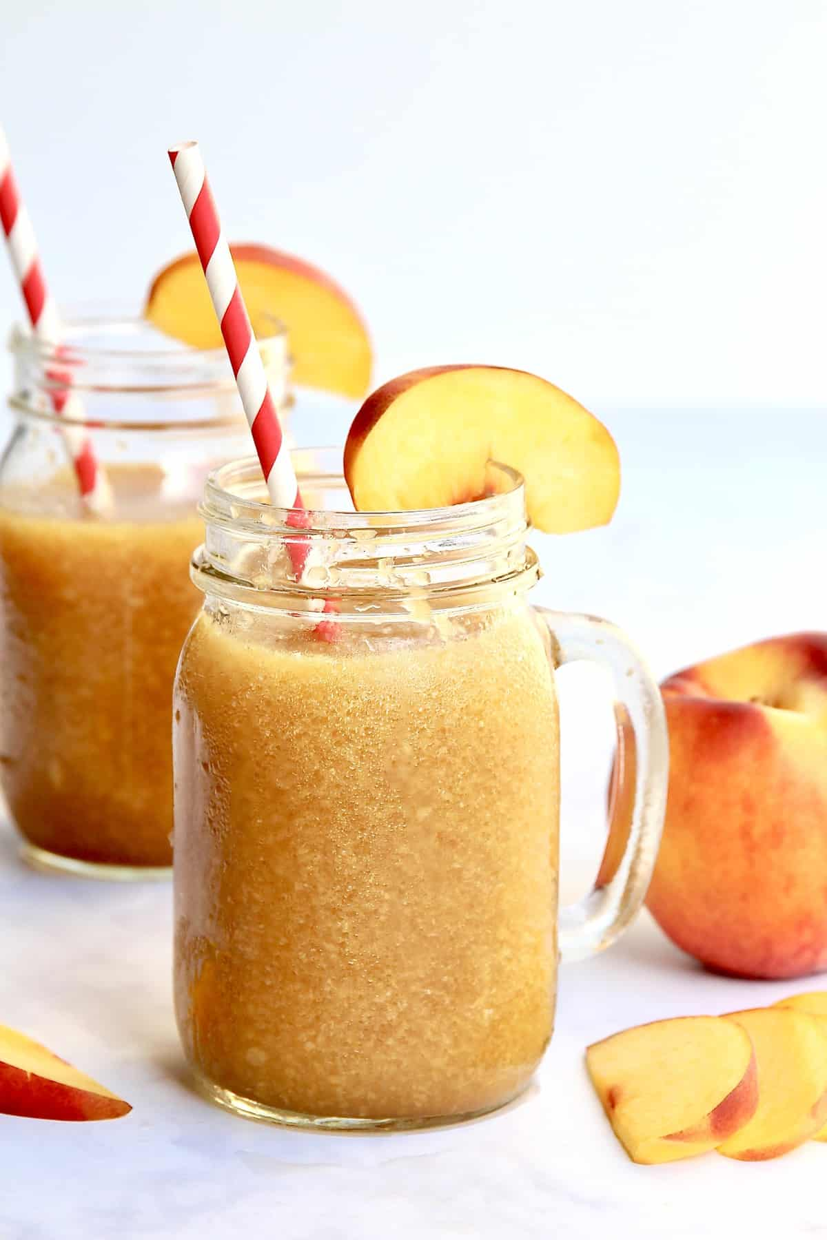 Peach Tea Slushies