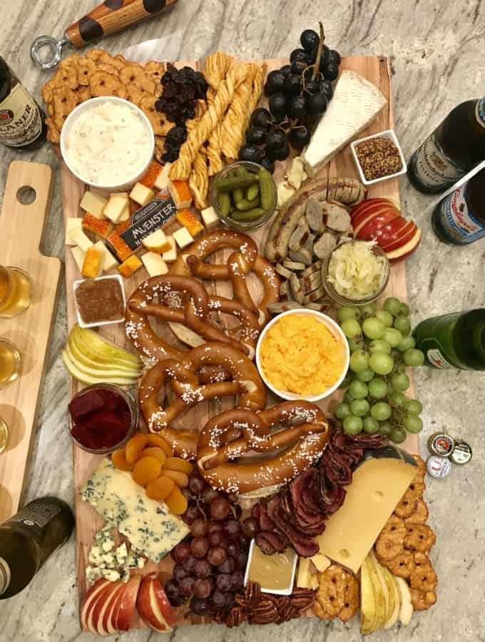 Octoberfest Snack Board