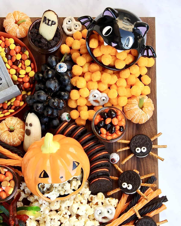 Spooky Snack Board by The BakerMama