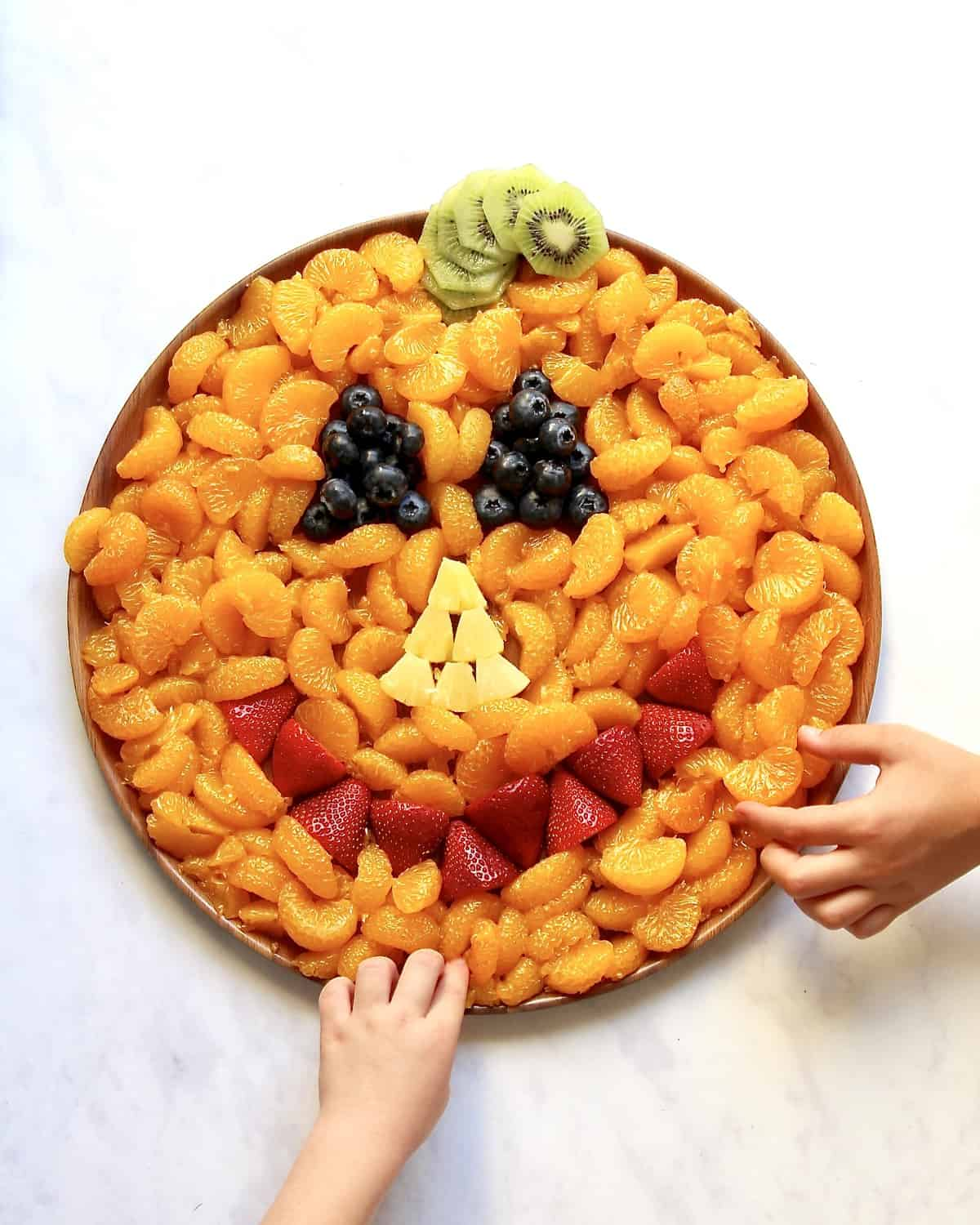 Pumpkin Fruit Platter