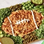Football Nacho Board