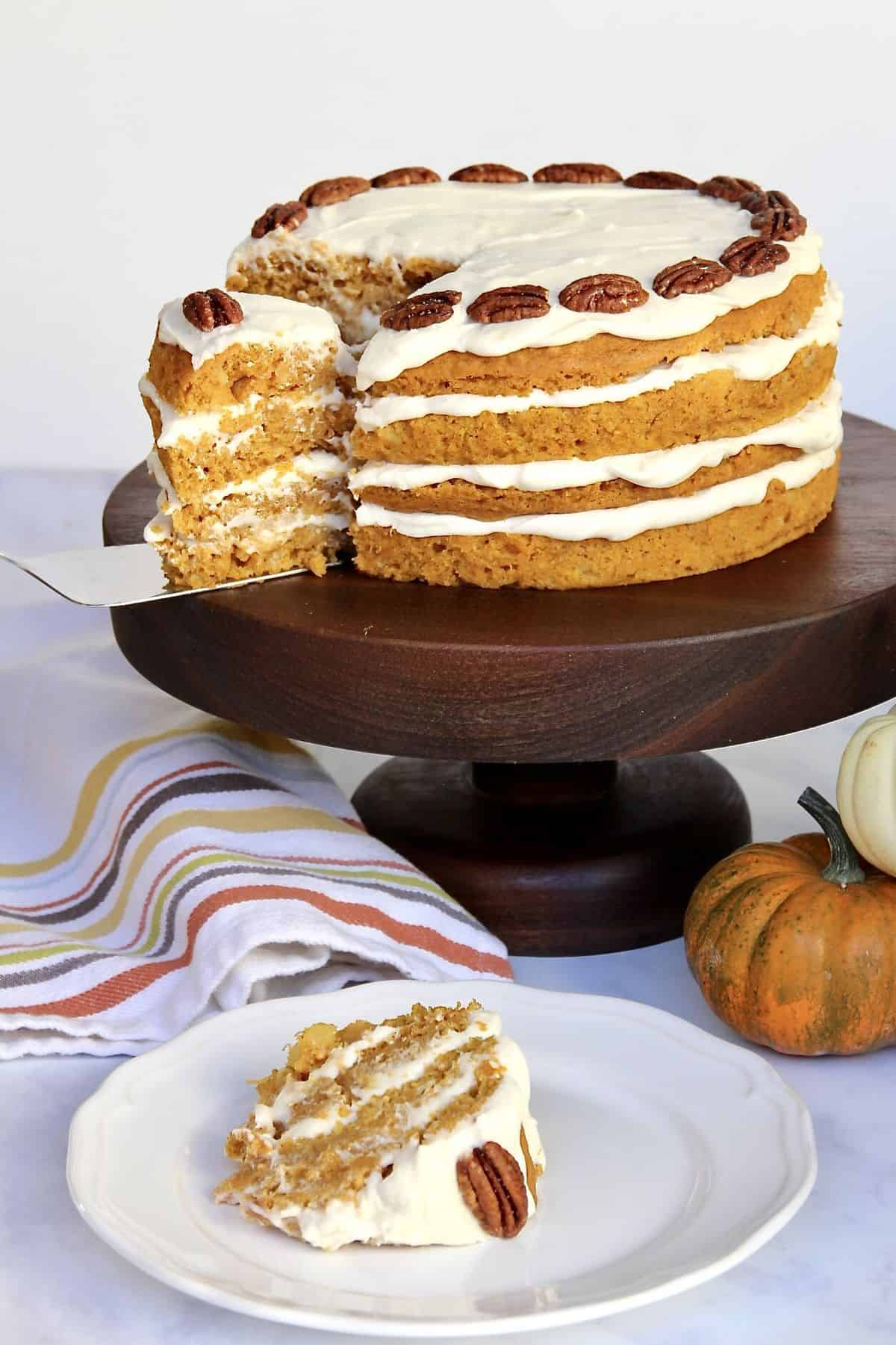 Pumpkin Pineapple Cake