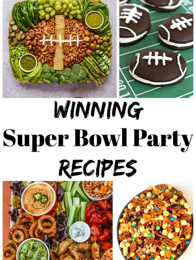 Winning Super Bowl Party Recipes by The BakerMama